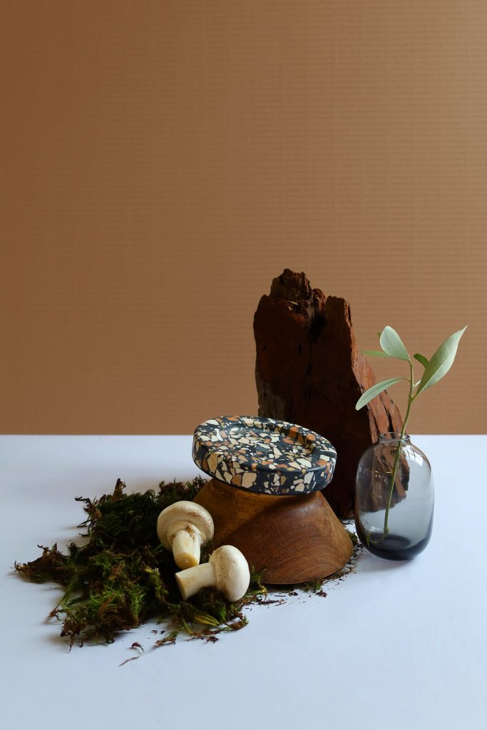 Terrazzo platters by Studio AN & The Dialogue Room