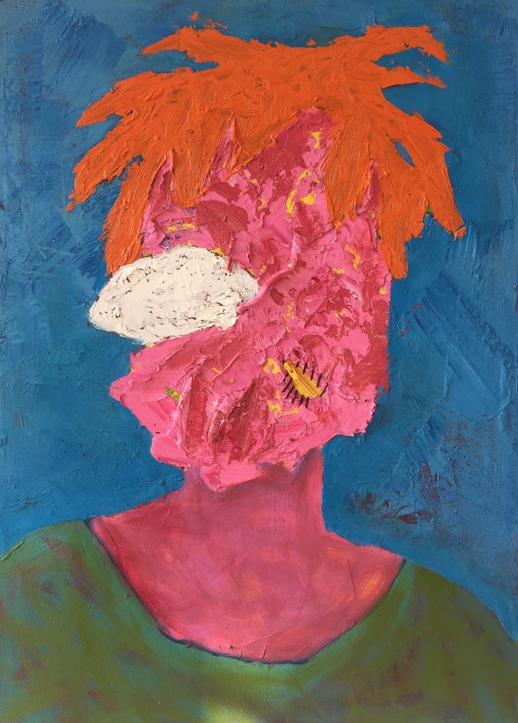 Art - Lwando Dlamini, Ebony/Curated