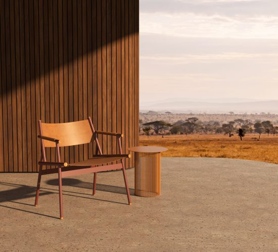 Slingshot chair by Haldane in Serengeti