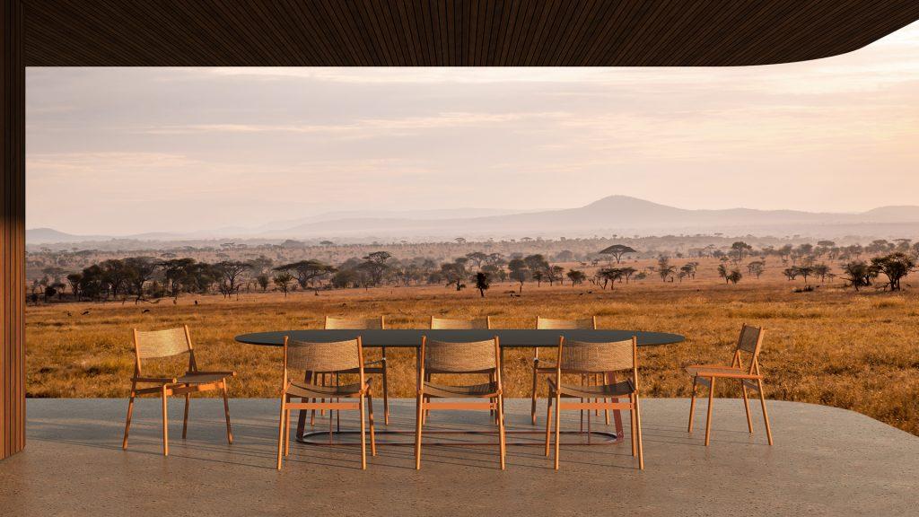 Slingshot chairs by Haldane in Serengeti
