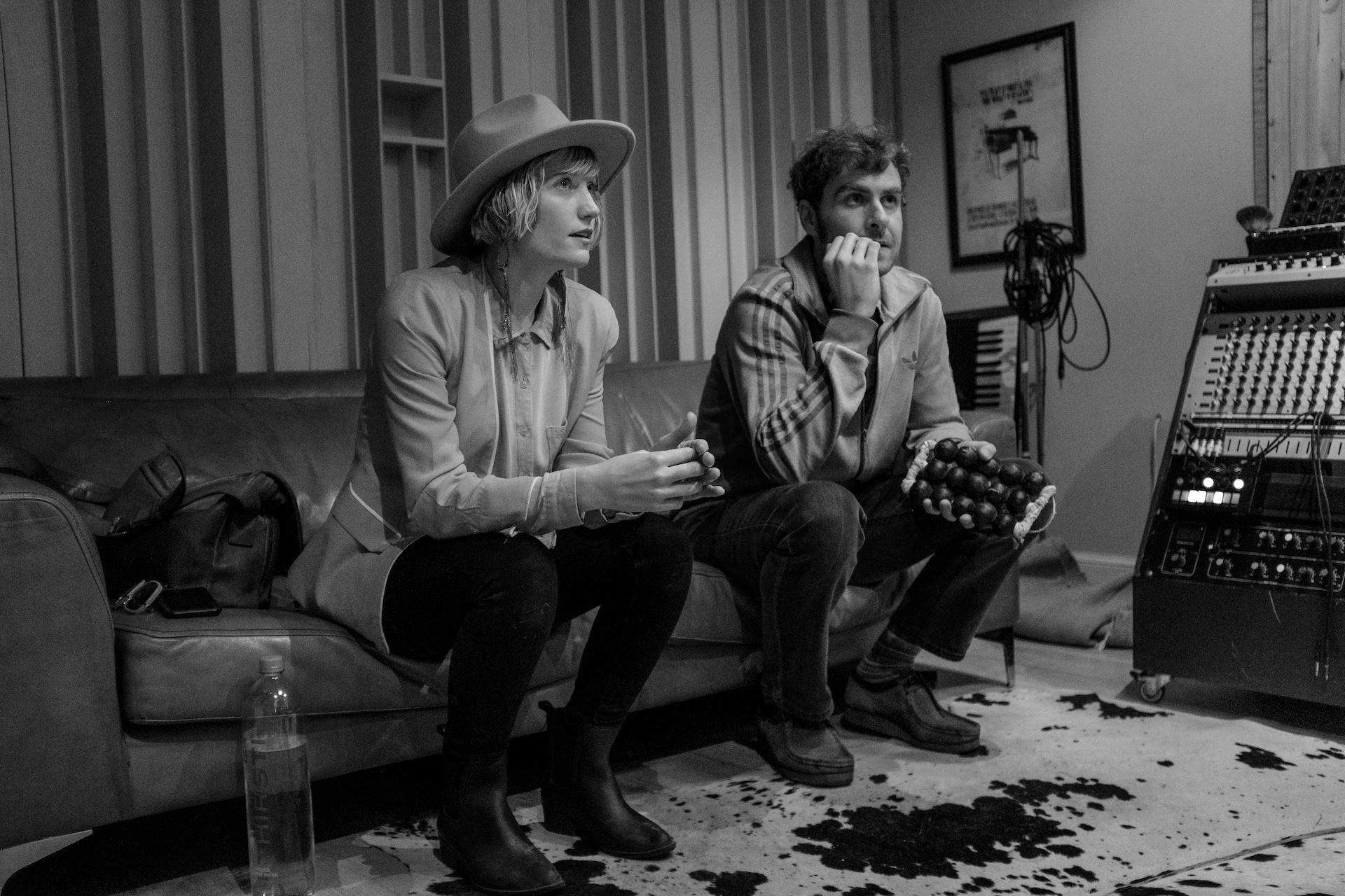 Husband and wife musician-artists Dan Bakkes and Brendon Erasmus