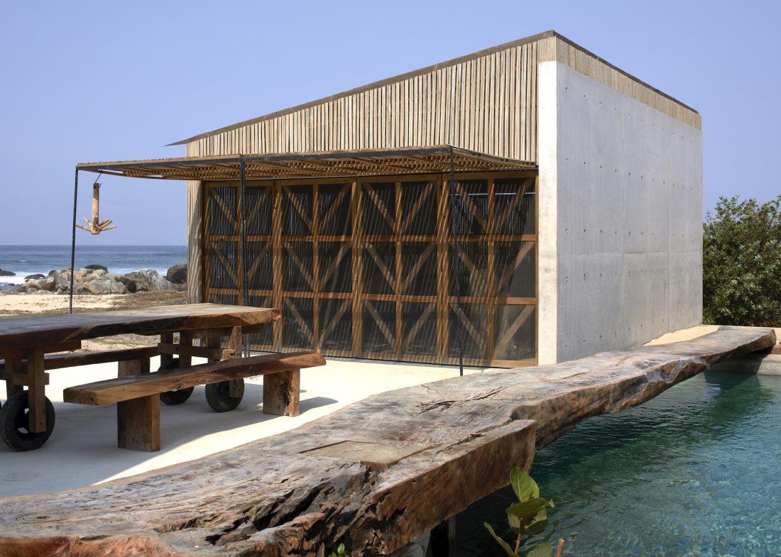 Mexican beach house in Oaxaca