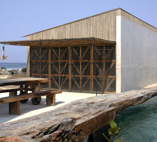 Mexican beach house in Oaxaca