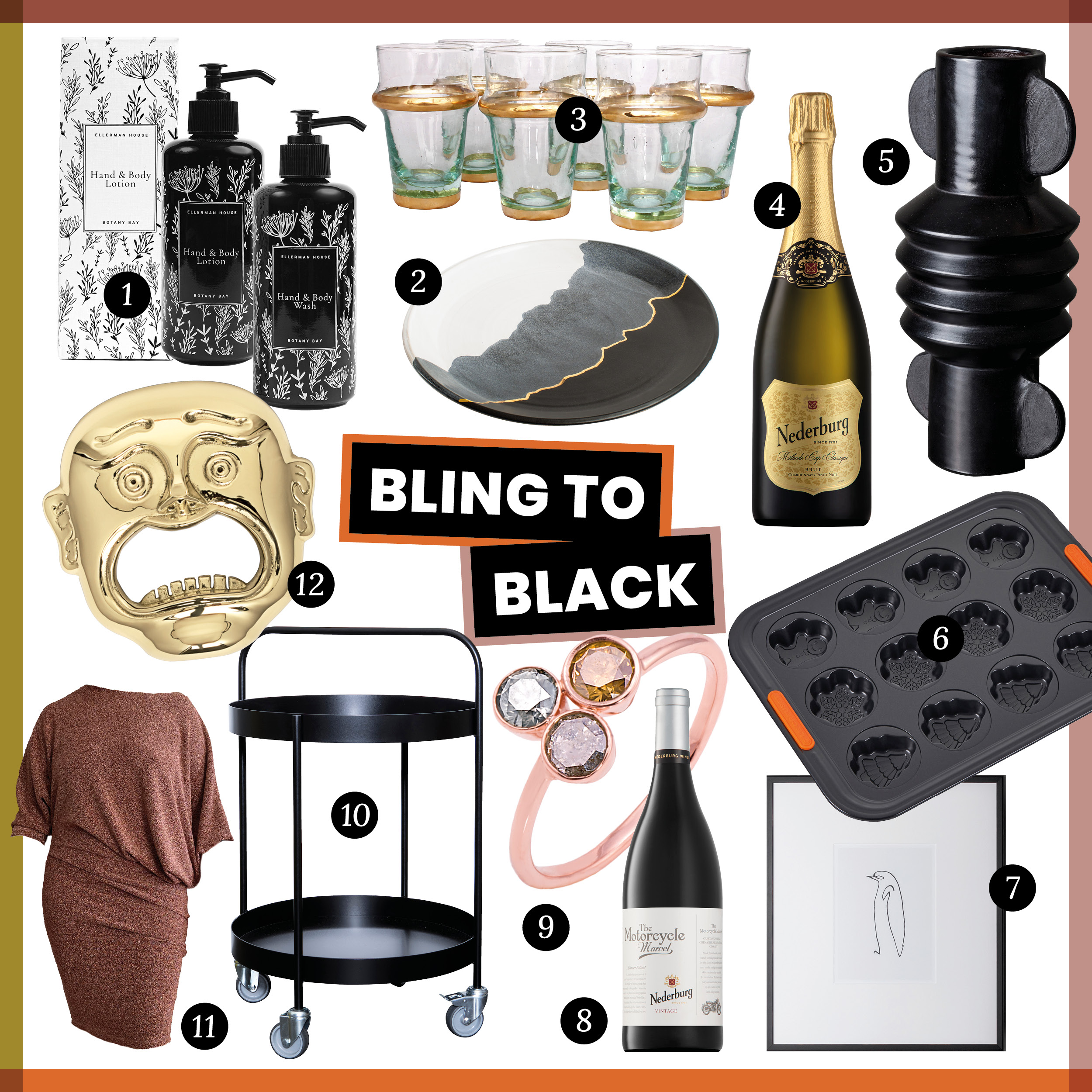 The Lifestyling List: our 2020 gift guide - Bling to Black