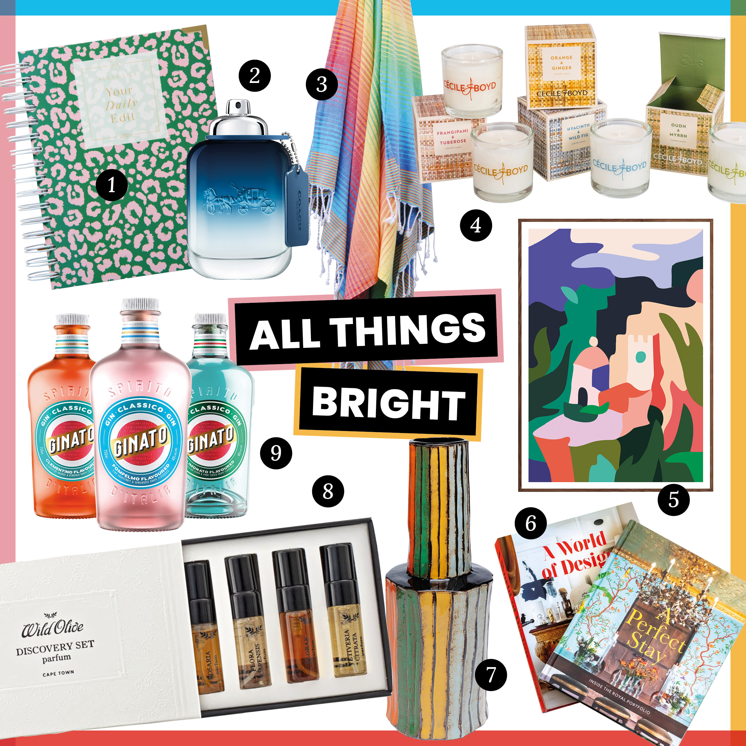 The Lifestyling List: our 2020 gift guide - all things bright