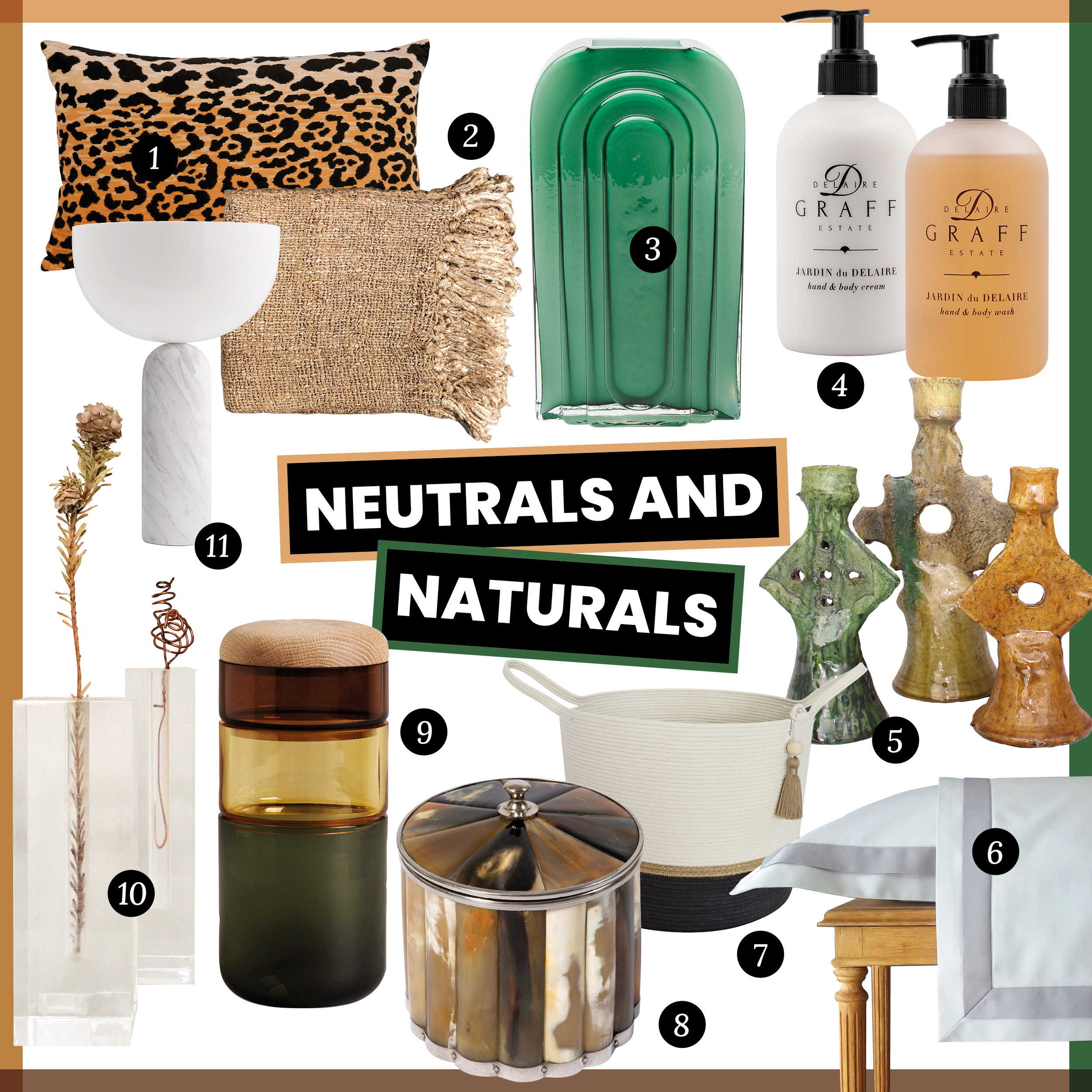 The Lifestyling List: our 2020 gift guide - Neautrals and Naturals