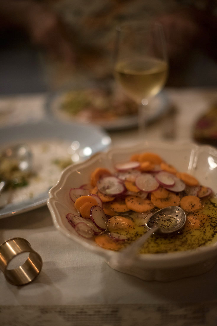 Karen Dudley, Poppyseed Coin salad