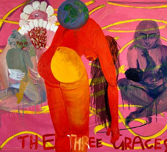 Grace Cross: The Three Graces
