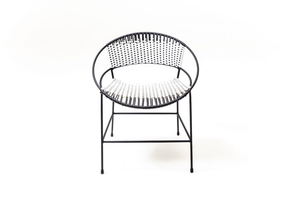 Douglas & Douglas, Woven dining chair, outdoor furniture