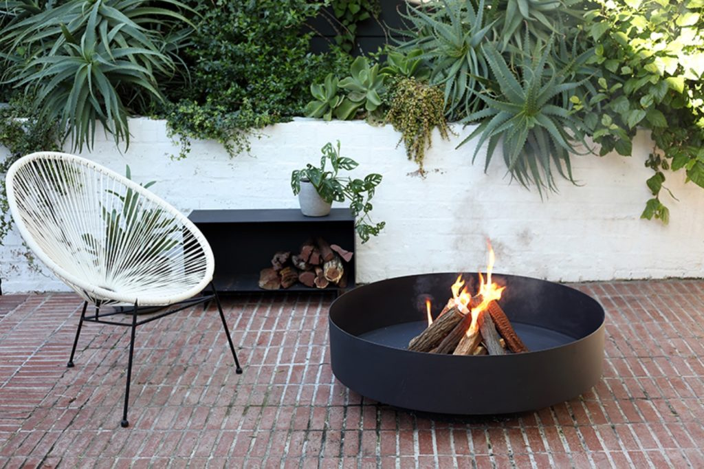 Sprung, fire pit, contemporary, outdoor furniture