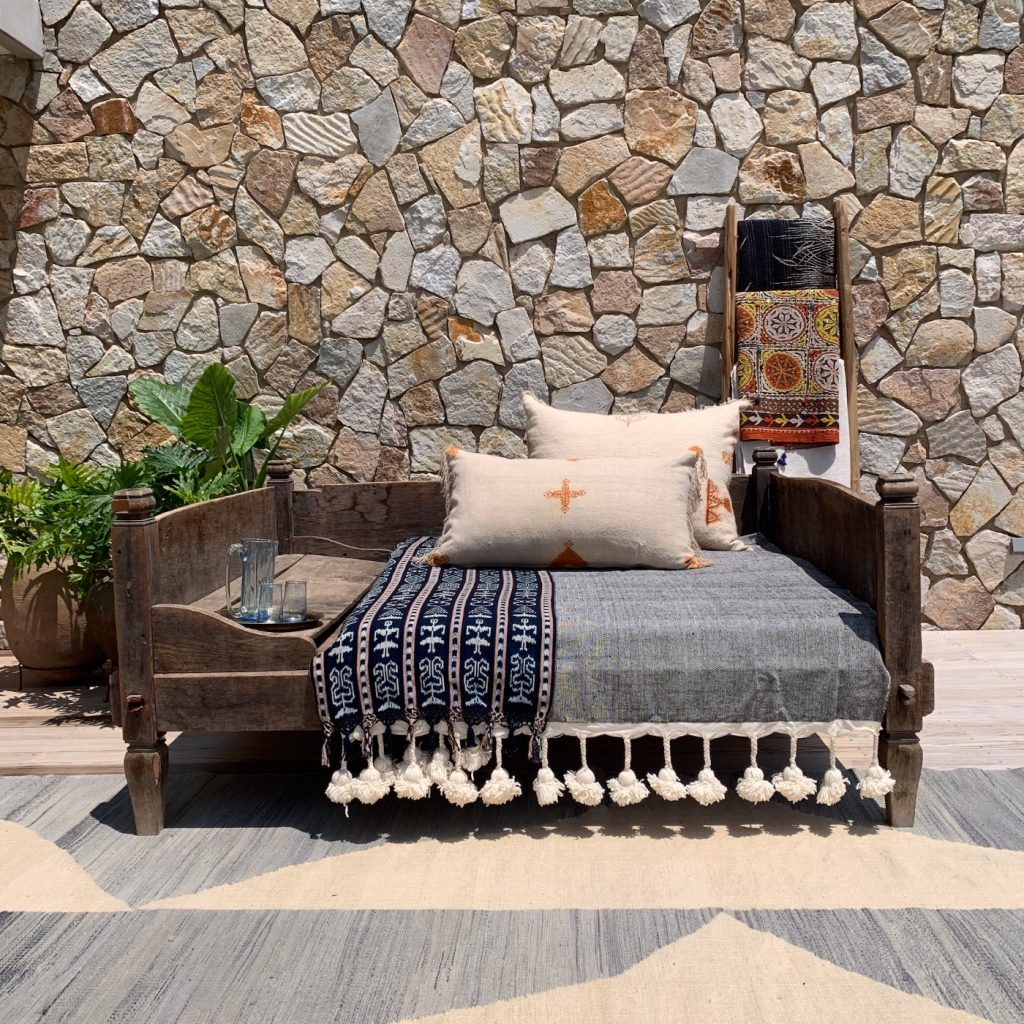 The Storer, North African daybeds, timber, outdoor furniture