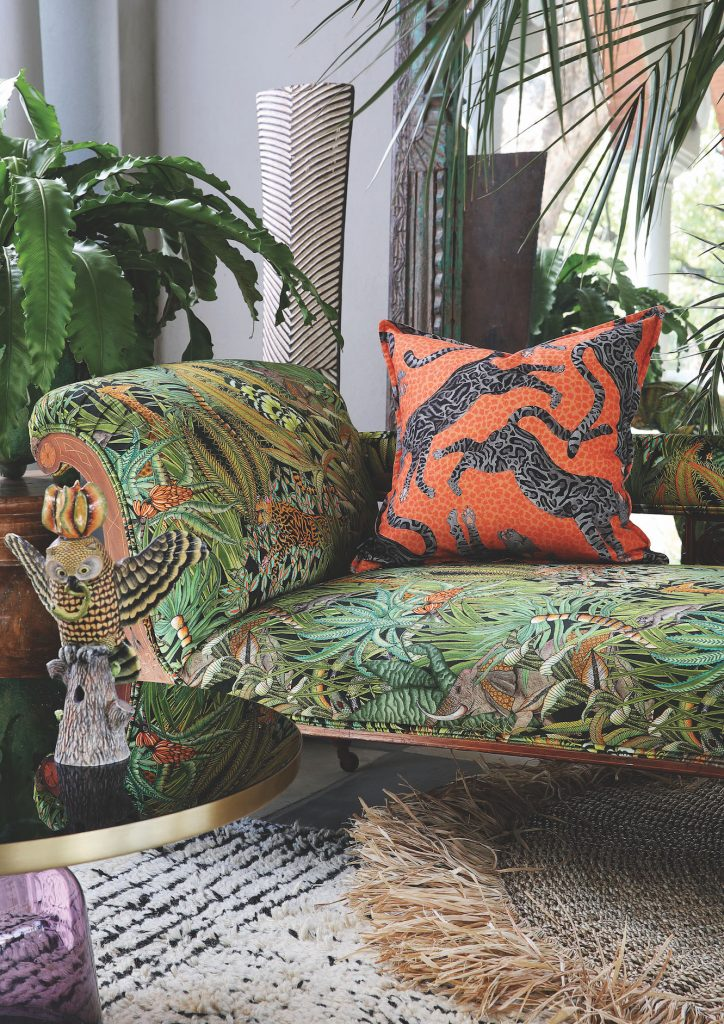 Tropical, Lounging, Scatter cushions, Textile, Accessories, Rugs