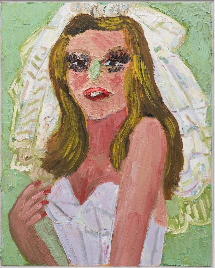 Georgina Gratrix_Reluctant Bride_2018_Oil on Canvas_100 x 80 cm_HR