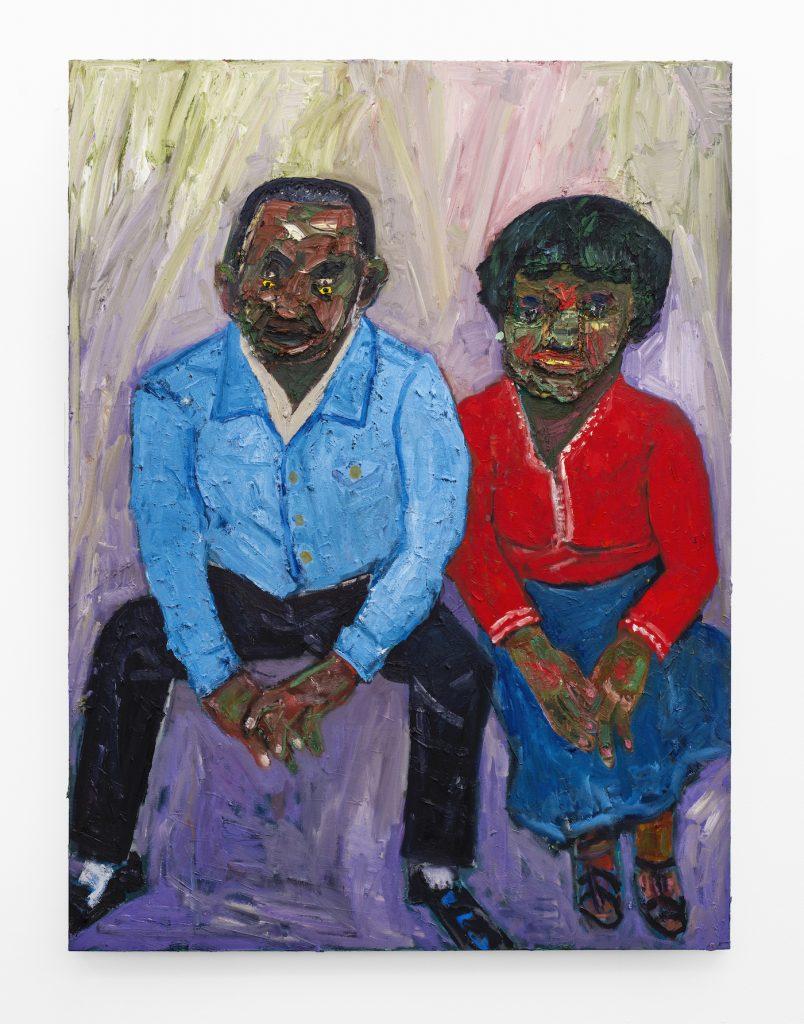 Georgina Gratrix_Sterron and Maggie_2020_Oil on Canvas_200 x 150 cm_HR