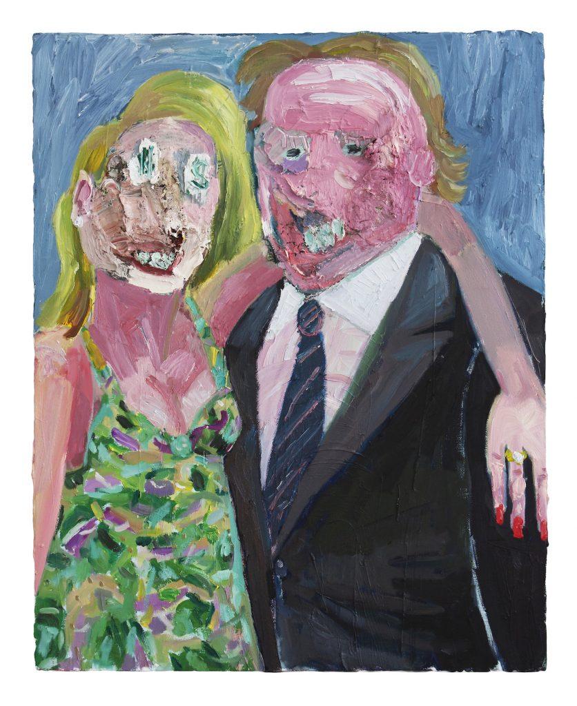Georgina Gratrix_The Collectors_2014_Oil on Canvas_100 x 80 cm_HR