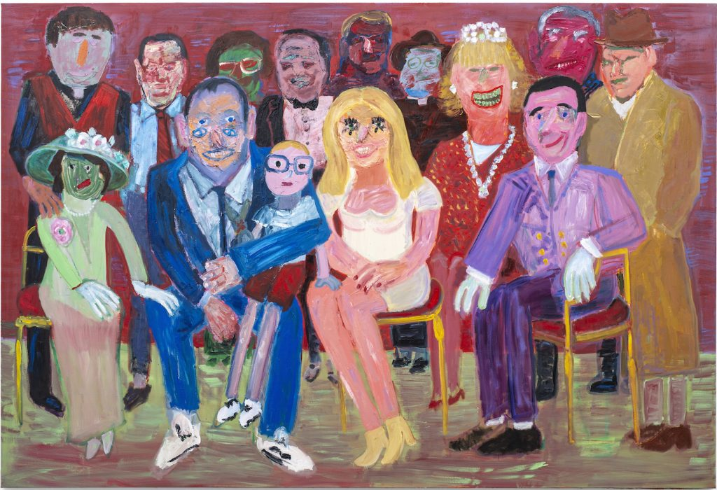 Georgina Gratrix_The Reunion_2020_Oil on Canvas_216 x 317cm_HR
