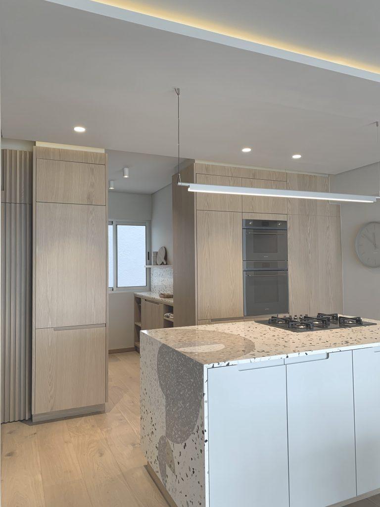Cannata, Kitchen, Kitchen decor, Interior design, Counter, Oven, Light wood