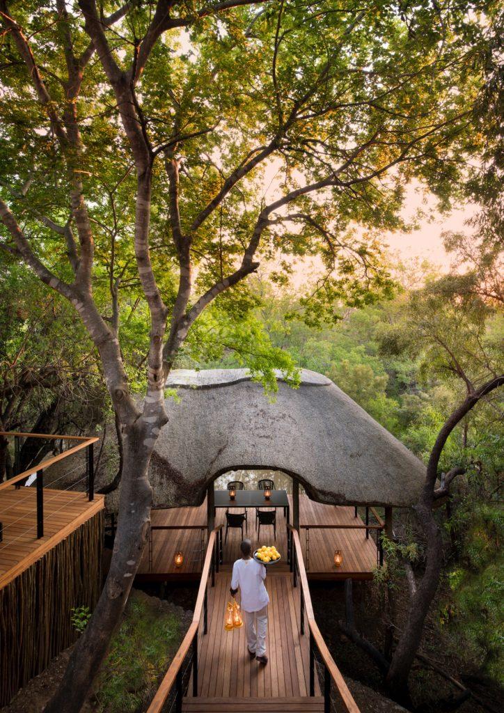 Morukuru House, Nature, Travel, Wooden decking, Lanterns