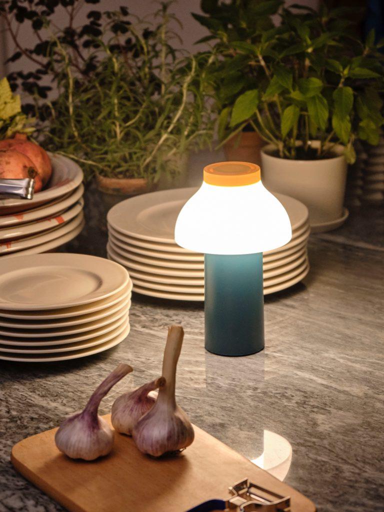 Crema, Portable light, Plates, Chopping board, Kitchen living, Kitchen decor