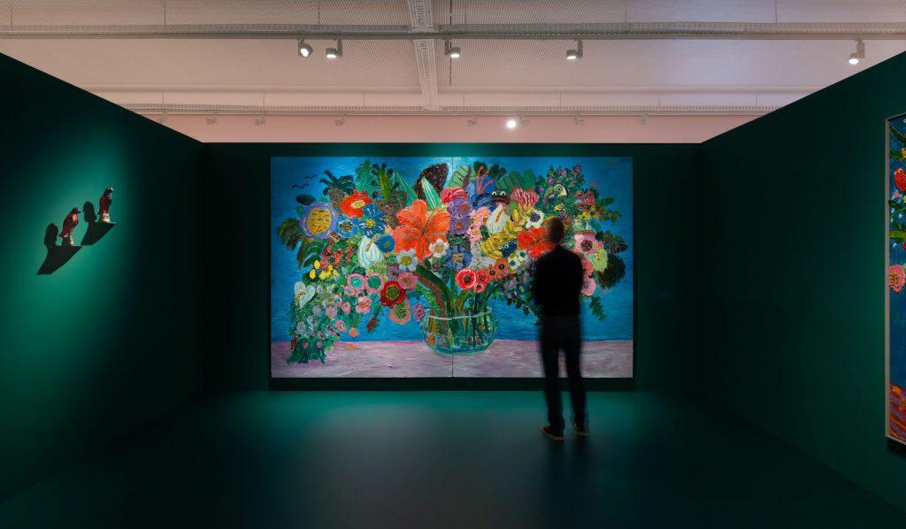 All the Birthdays Bouquets - The Reunion - Georgina Gratrix, Installation View 9, Mike Hall