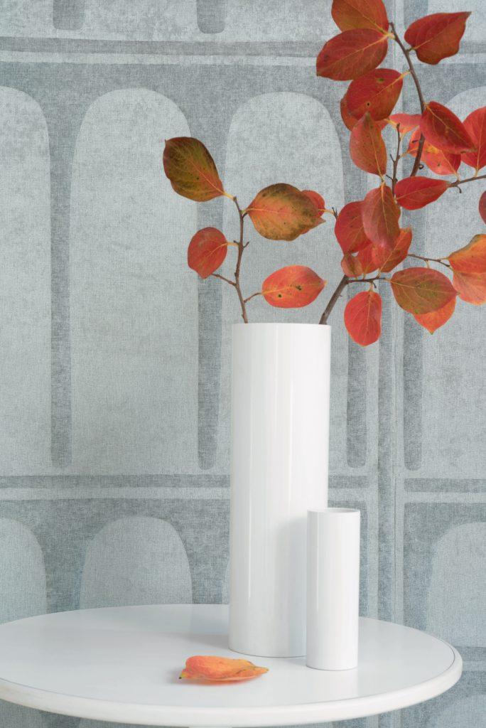 Elitis, Autumn leaves, White urn
