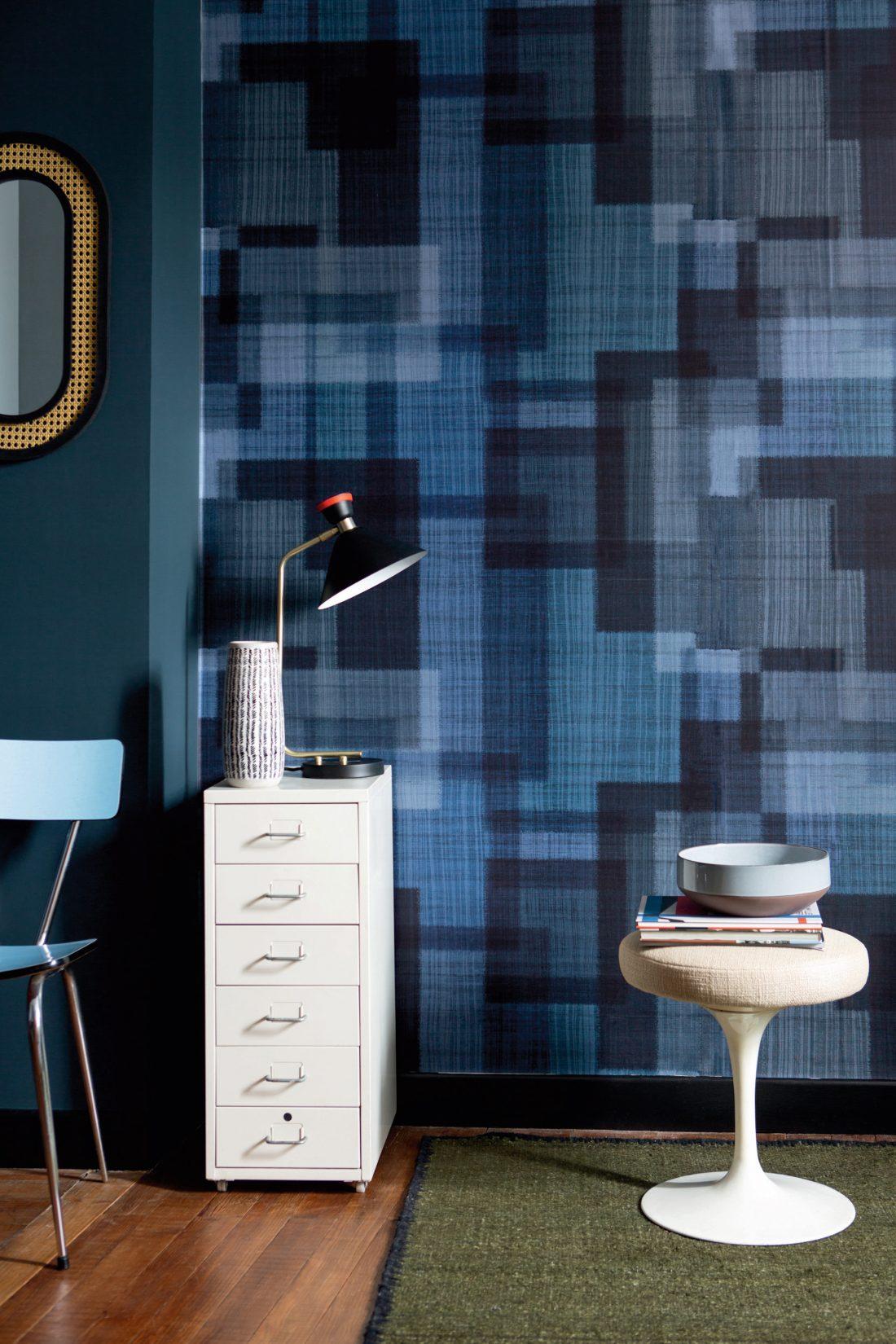 St Leger & Viney: Elitis, wallpaper