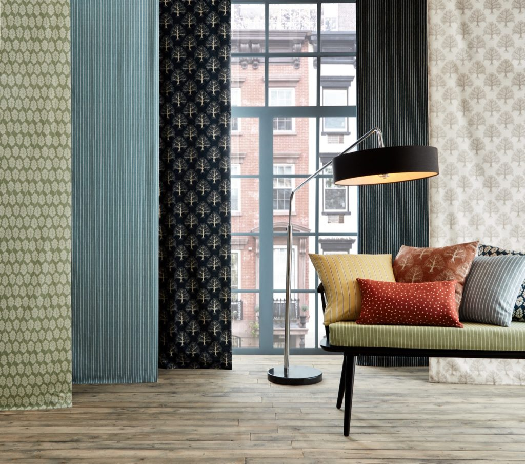 Imprint, Bright, Linen, Standing lamp, Seating, Scatter cushions