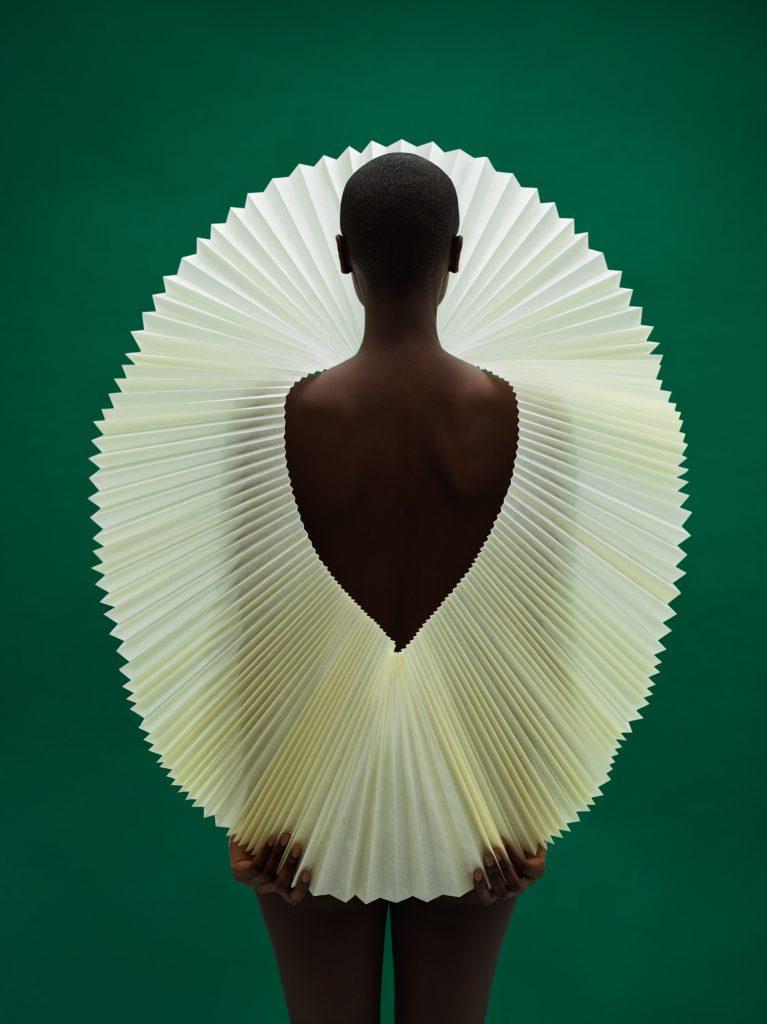 Semblance Agency, Gavin Goodman, Paper art, Origami art, Pleated paper, Fine art