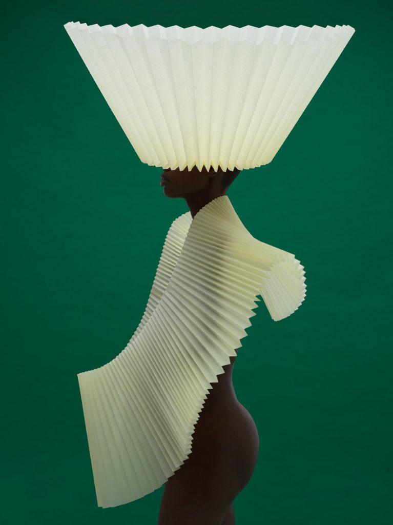 Semblance Agency, Paper art, Origami art, Pleated paper, Fine art, Gavin Goodman