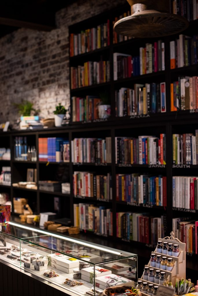 cookery books at Local, Heritage Square, Cape Town, Claire Gunn photography