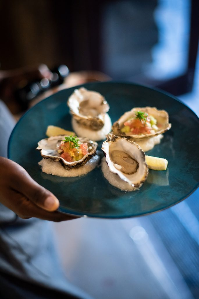 oysters at Mazza at Local, Heritage Square, Cape Town
