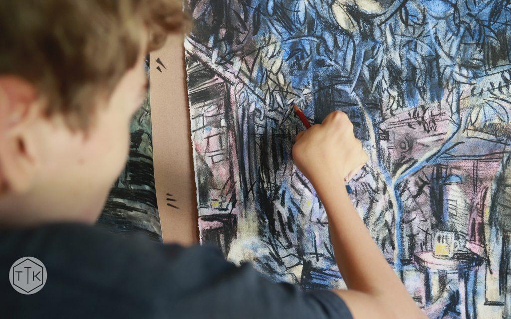 Michael Beckurts, drawing Interlude