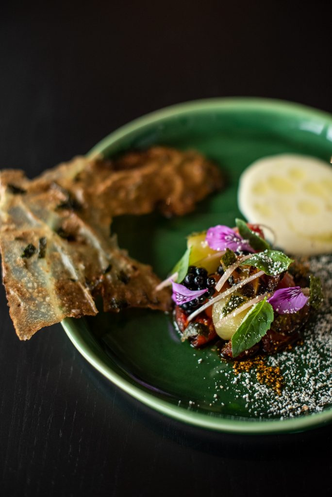 tapas at Chefs Warehouse at Tintswalo Atlantic, Claire Gunn photography